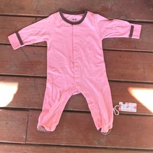 Baby soy- infant girl sleeper-NWTs-Sz 3-6 mon-pink